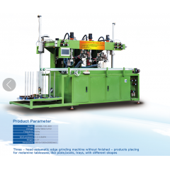 Auto Melamine Crockery Polishing Machine